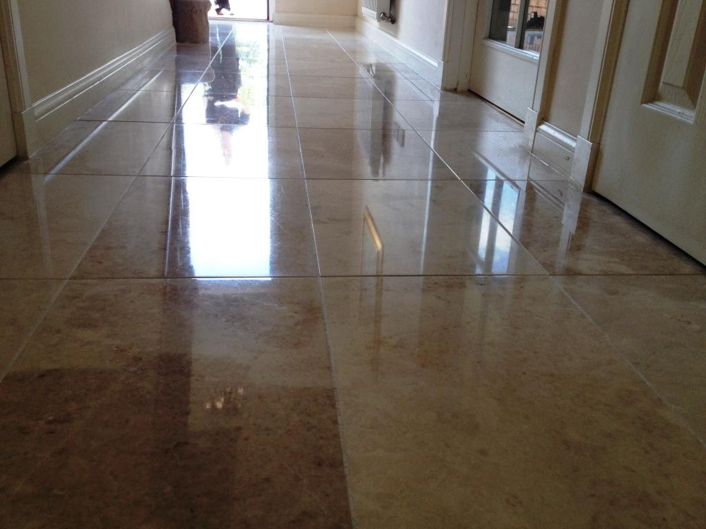 Polished Marble Hallway Edinburgh After