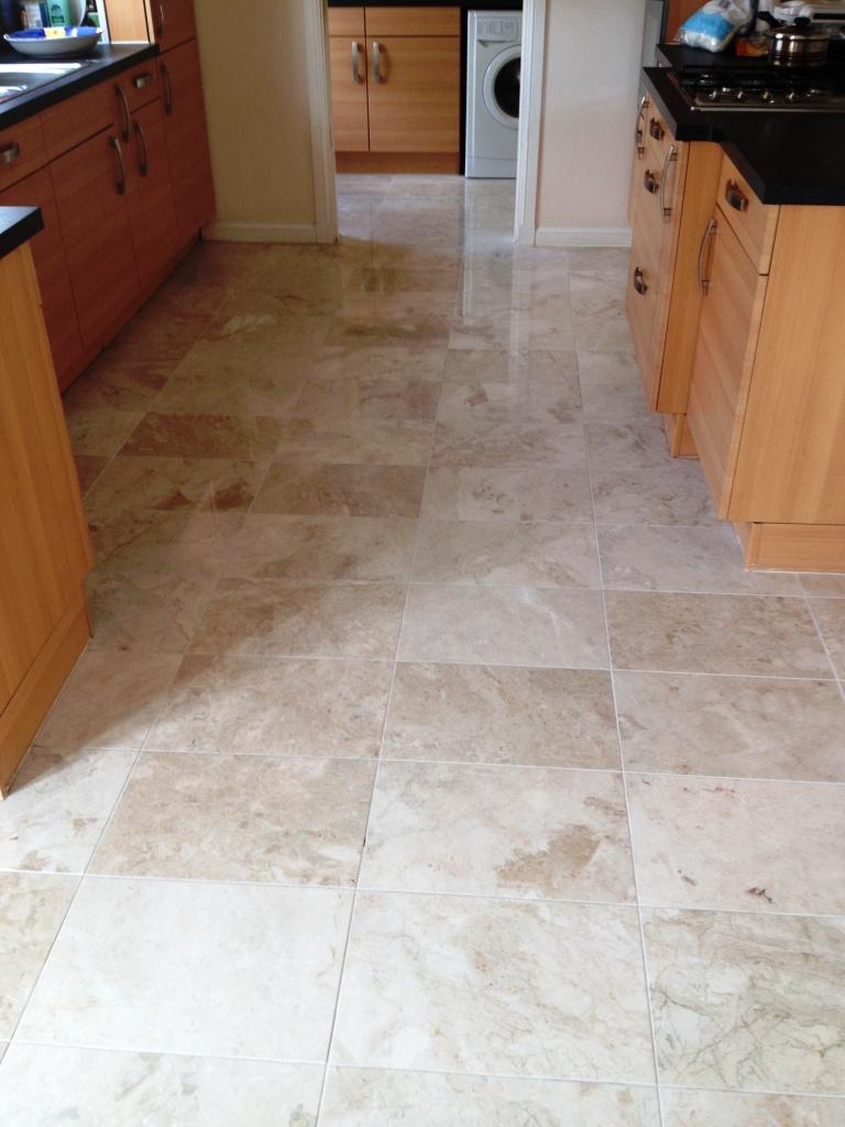 Polished Marble Kitchen Edinburgh After
