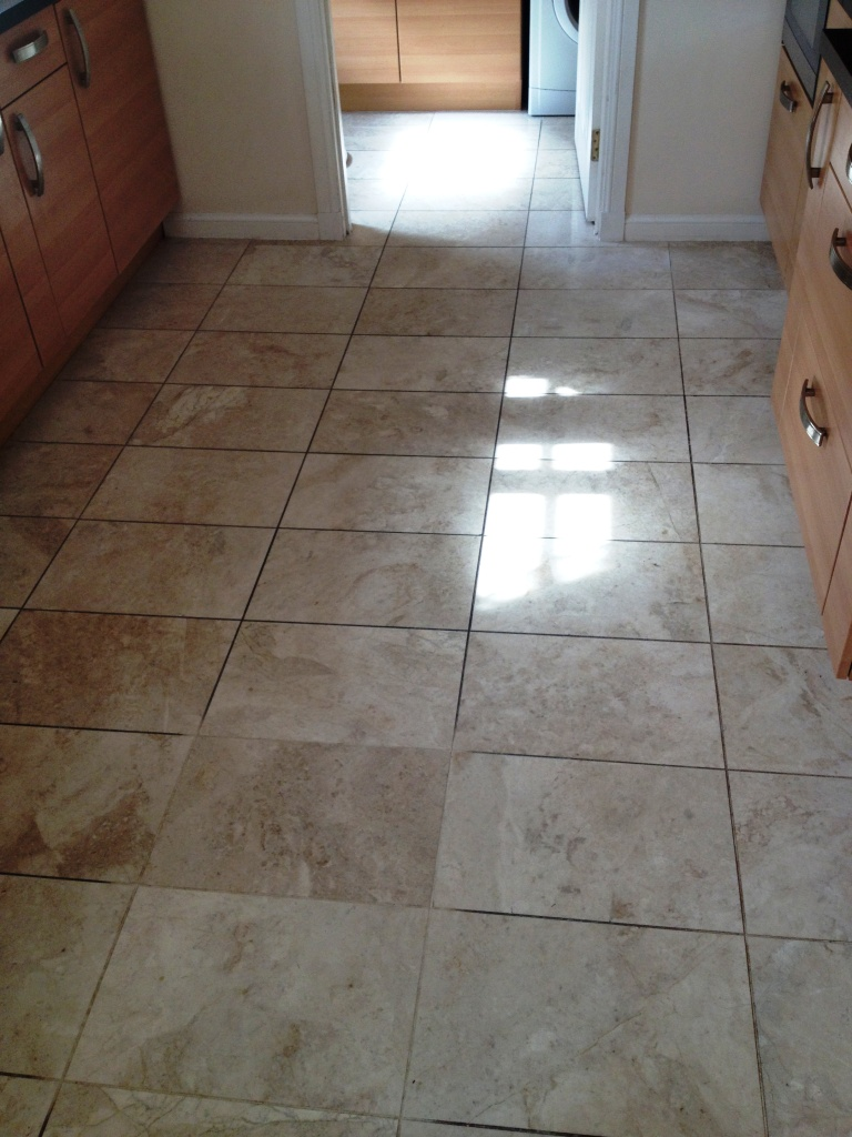 Hallway Floor Cleaning Marble Tile Cleaning And Polishing
