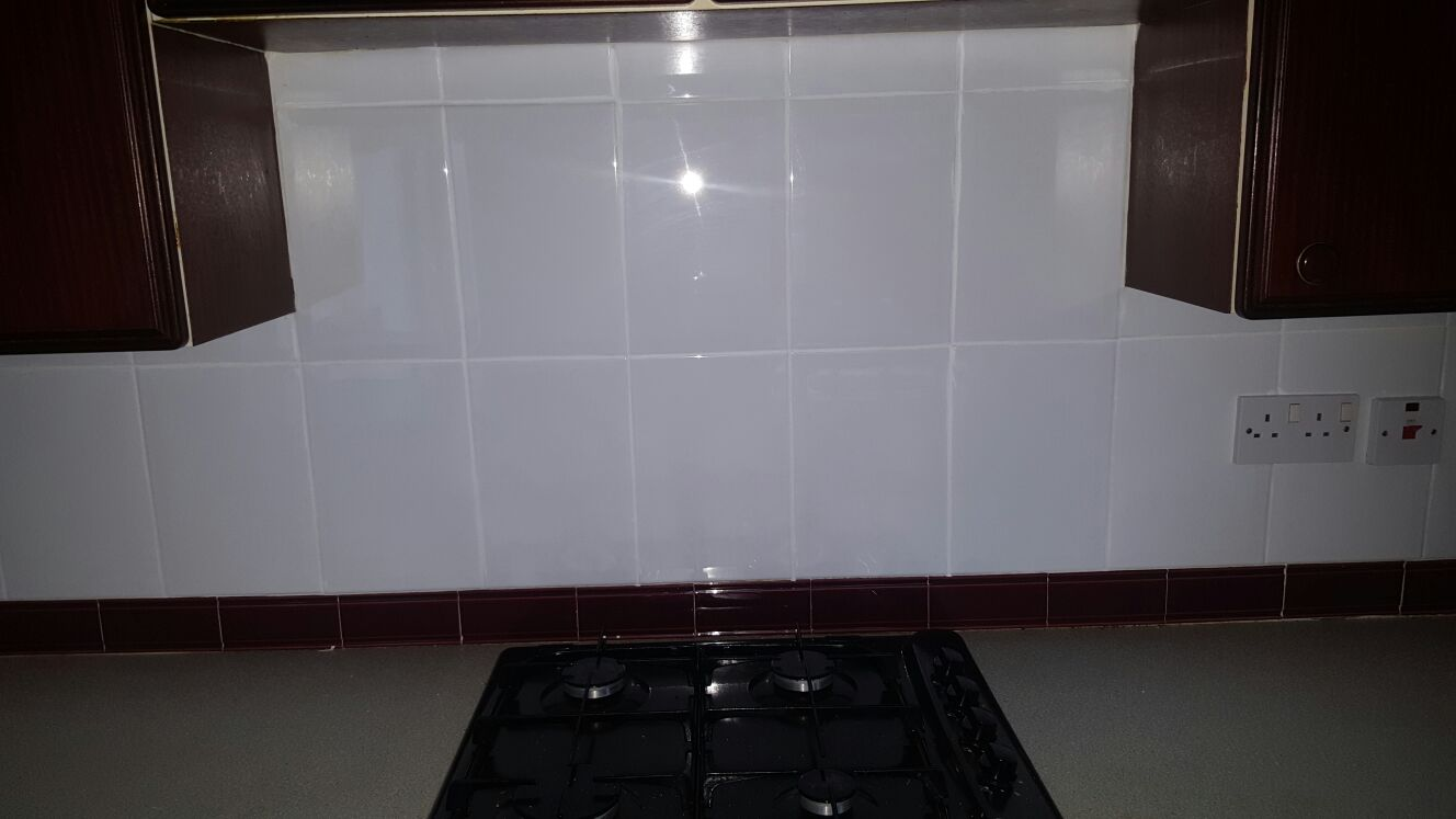 Kitchen Wall Tile After Refresh in Edinburgh