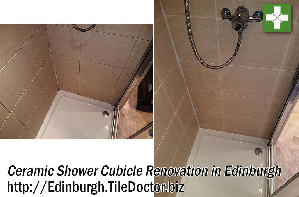 Ceramic Shower Cubicle Cleaning in Edinburgh